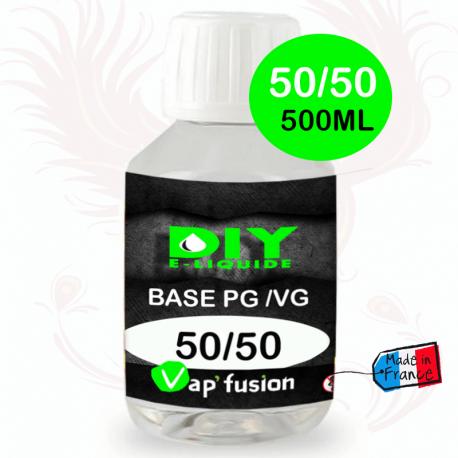 Base PG/VG 50/50 500ml by Vap'fusion
