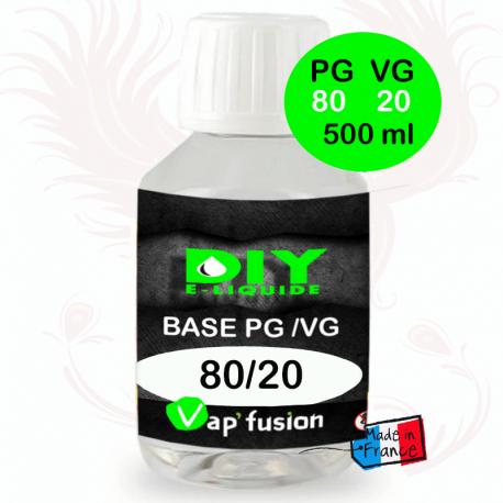Base PG/VG 80-20 500ml by Vap'fusion