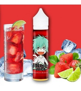 E-liquide Strawberry diabolo 50ml breaking juice avec booster 18mg