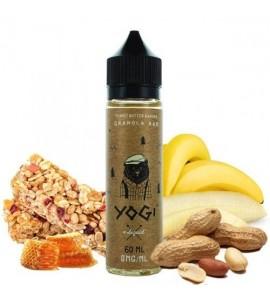 E liquide Granola bar- peanuts butter banana - 50ml- Yogi