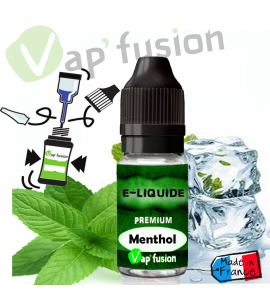 e liquide menthol 10ml Vapfusion
