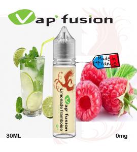E liquide Limonade framboise 20ml+ booster nicotine - Vapfusion
