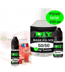 Pack base DIY facile e liquide Magma 230 ml Vap'fusion