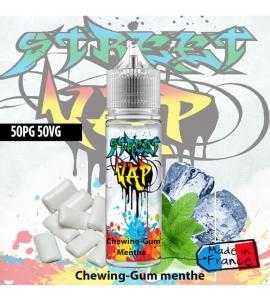 E liquide Chewing-gum Menthe - 50ml - Street Vap