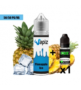 Street Vap - Pineapple Ice - Vap Juice no nicotine 50/50 E liquid E cigarette 50ml