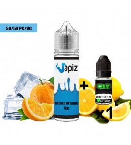 E liquide Citron orange ice - 50ml - Vapiz
