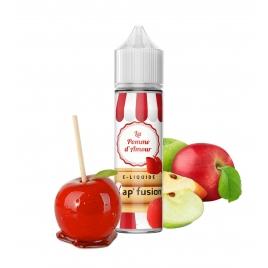 E-liquide Pomme d'amour 50 ml 50/50 PG/VG Vap'fusion