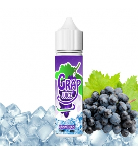 E-liquide Grap Juice Vapfusion 50 ml 50/50 PG/VG Raisin Frais