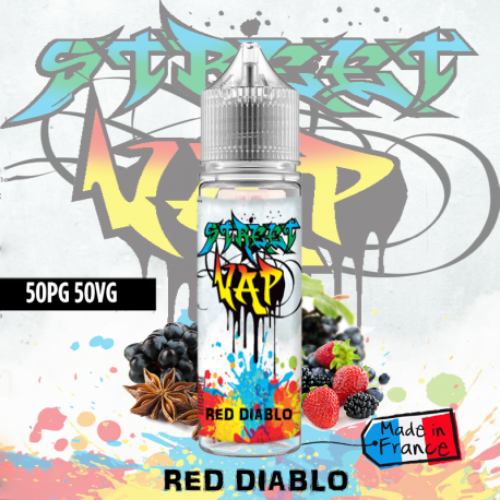 Eliquide RED DIABLO 50ml street vap