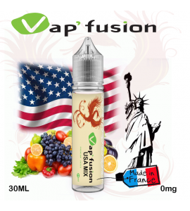 e-liquide usa mix Vap'fusion 30 ml
